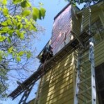chimney damage, squirrel removal